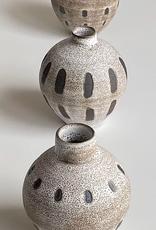 Magda Bethani MBC/VSWL Vase white with lines