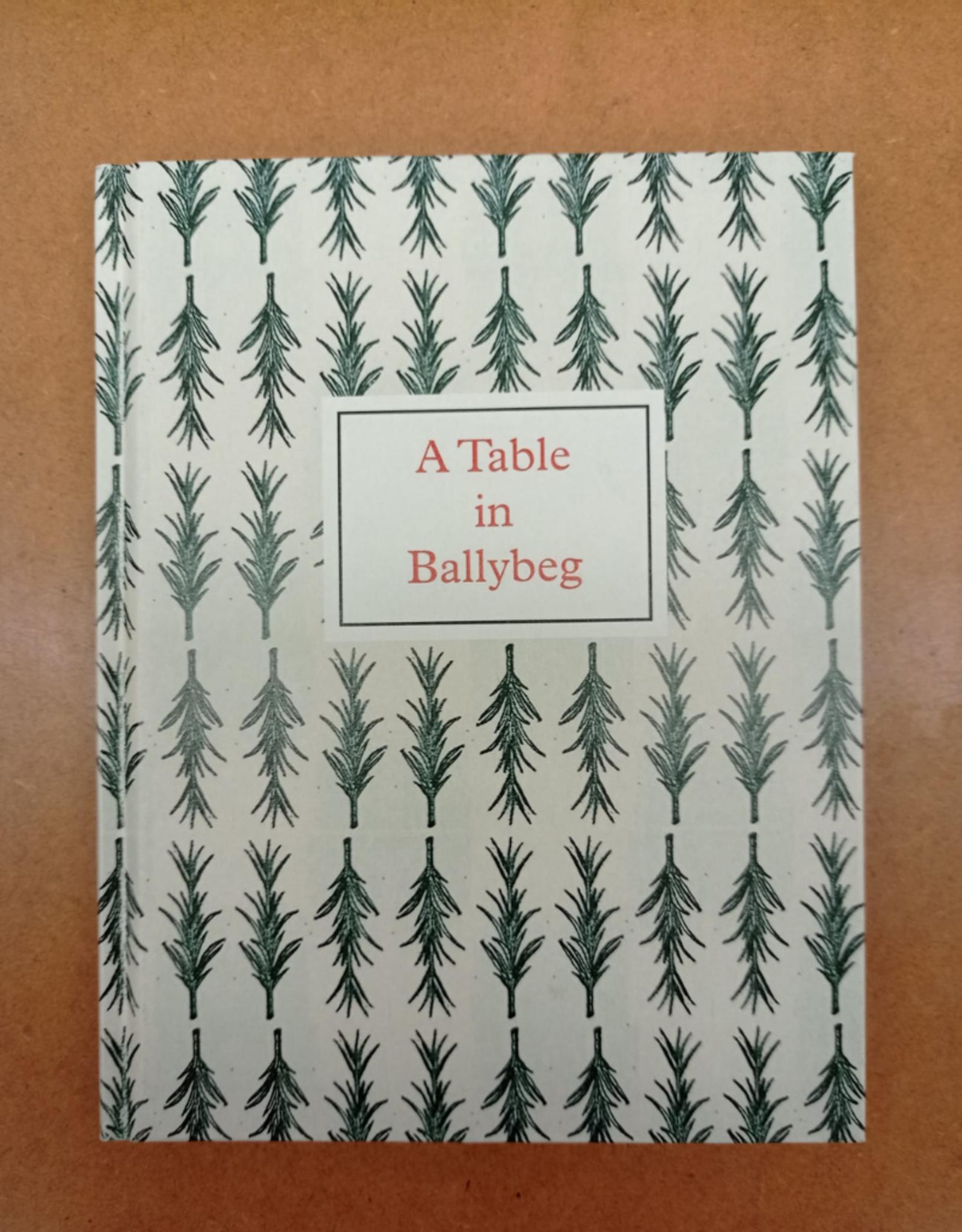 Coracle A Table in Ballybeg Simon Cutts & Erica Van Horn
