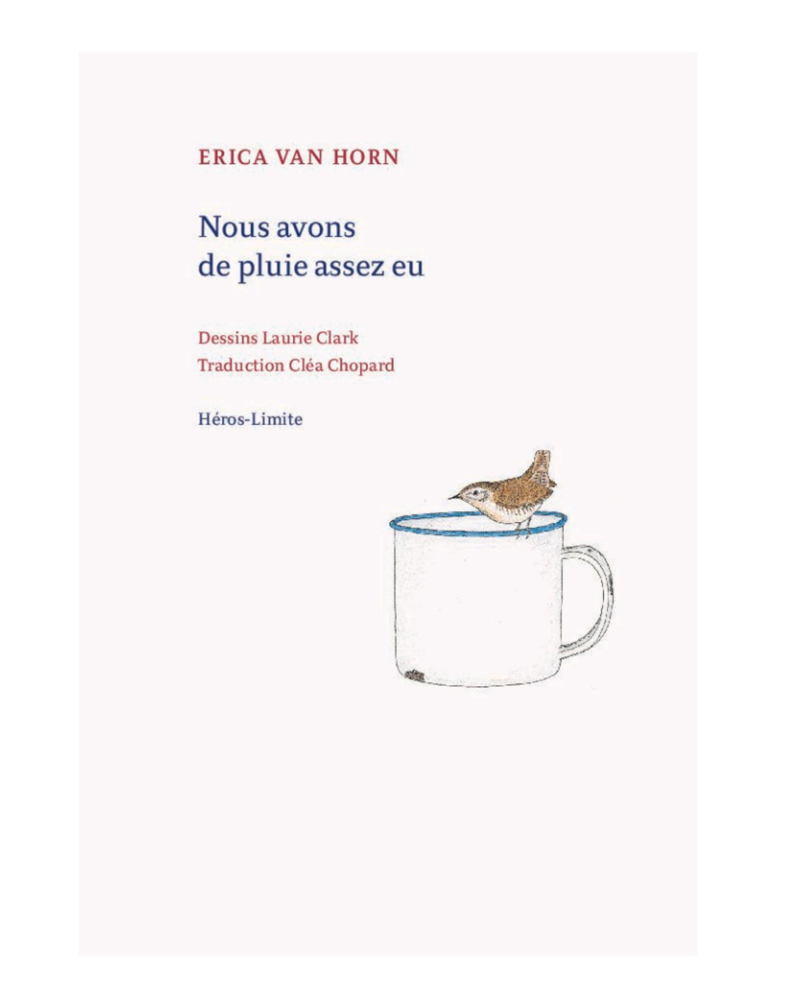 Coracle Nous Avons de Pluie Assez Eu - Erica van Horn