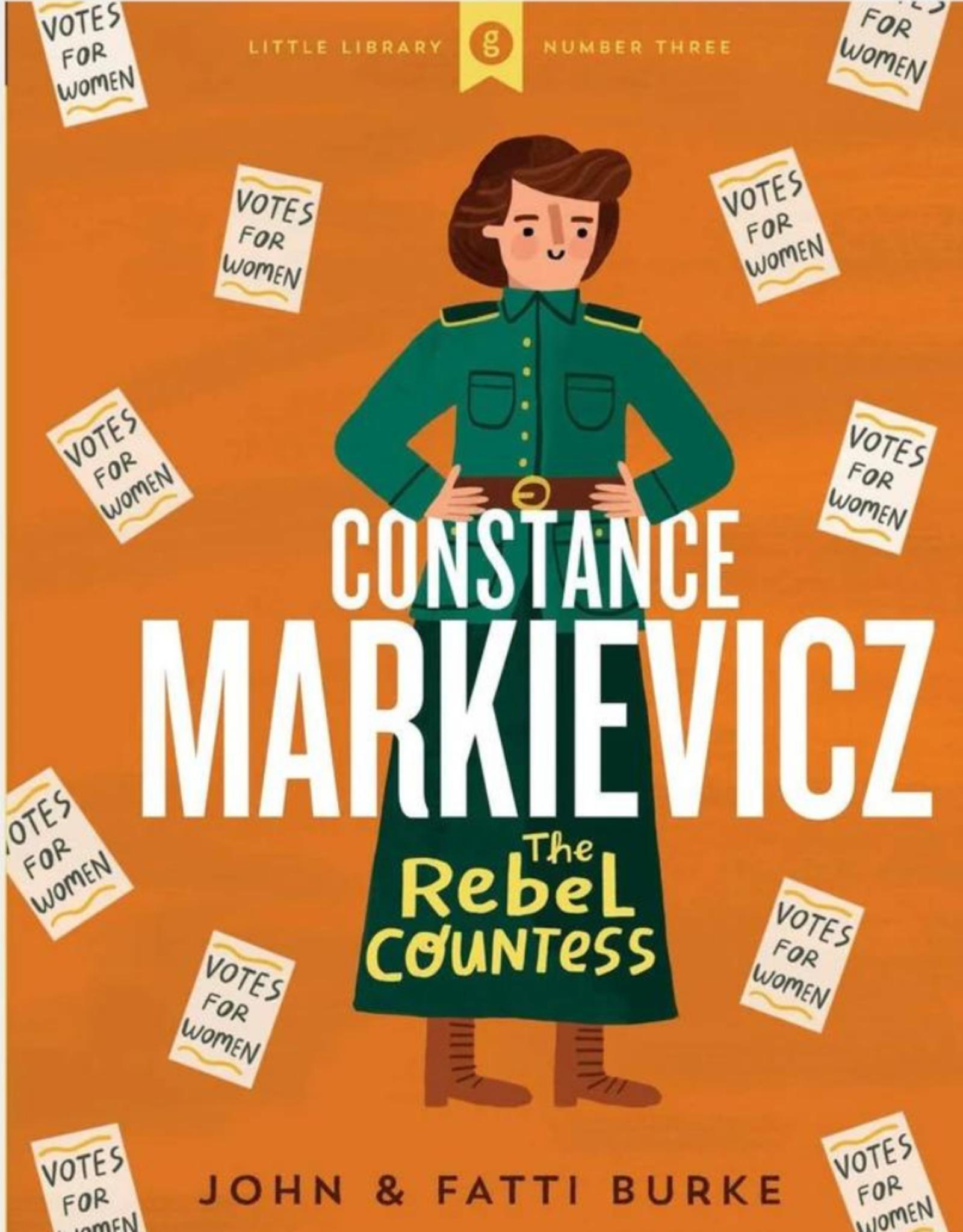 Gill Books Constance Markievicz The Rebel Countess - John & Fatti Burke