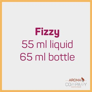 Fizzy 55ml in 65ml -  Strawberry