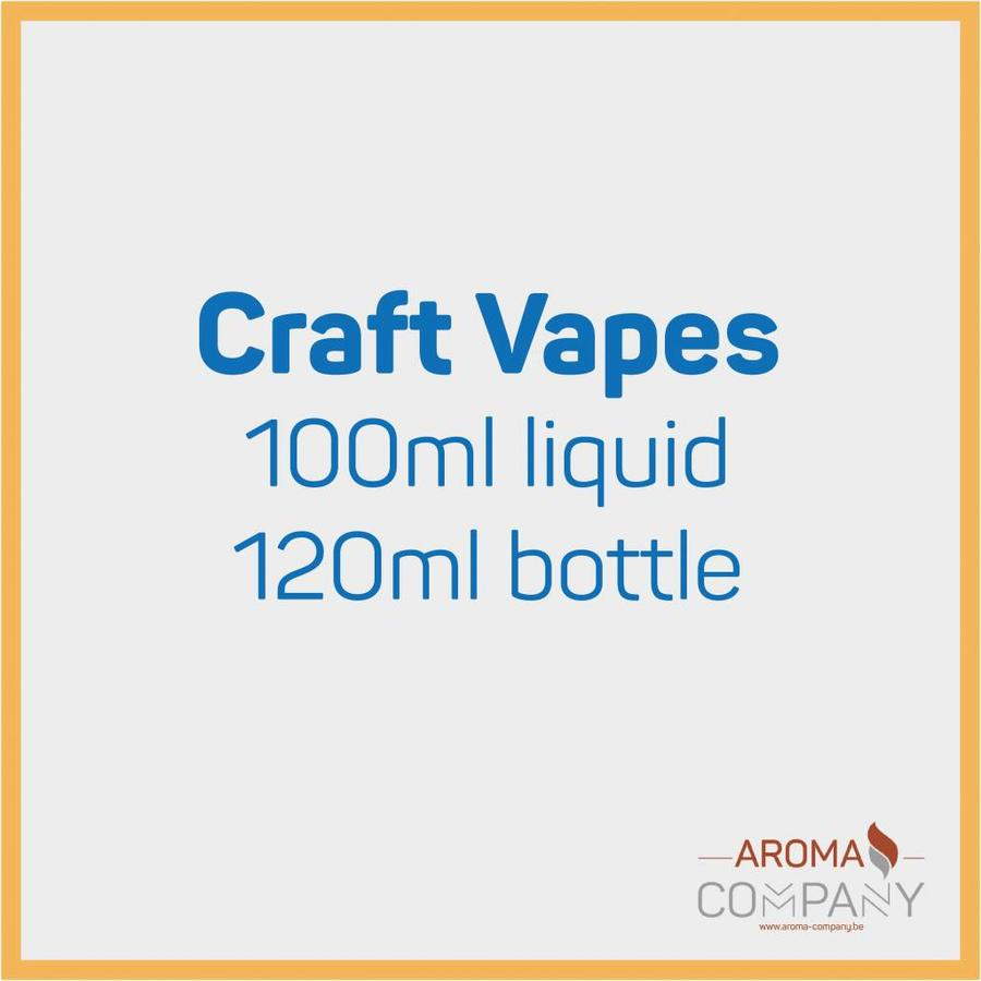 Craft Vapes 100ml -  Foggy Dew