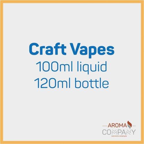 Craft Vapes 100ml -  Créme Anglaise