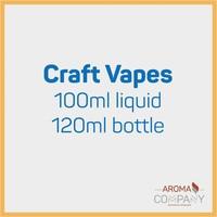 Craft Vapes 100ml -  Angry Apple