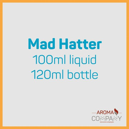 Mad Hatters Juice 100ml -  120 Cream Pop