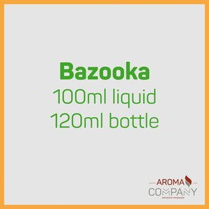 Bazooka Sour Straws 100ml Rainbow