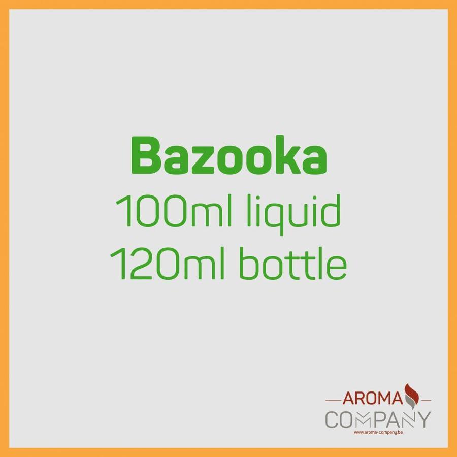 Bazooka Sour Straws 100ml Pineaple Peach