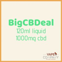 BigCBDeal - Purple Drank 1000mg - 120ml