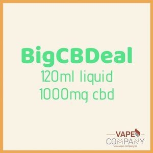BigCBDeal -  Berry Burst 1000mg - 120ml
