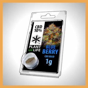 Plant of Life CBD Solid Blueberry 10%
