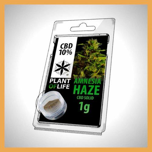 Plant of Life CBD Solid Amnesia Haze 10%