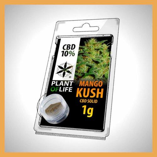 Plant of Life CBD Solid Mango Kush 10%