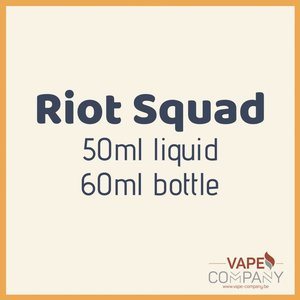 Riot Squad 50ml - Strawberry Scream