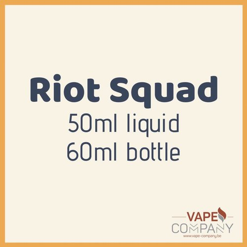 Riot Squad 50ml - Cri à la Fraise