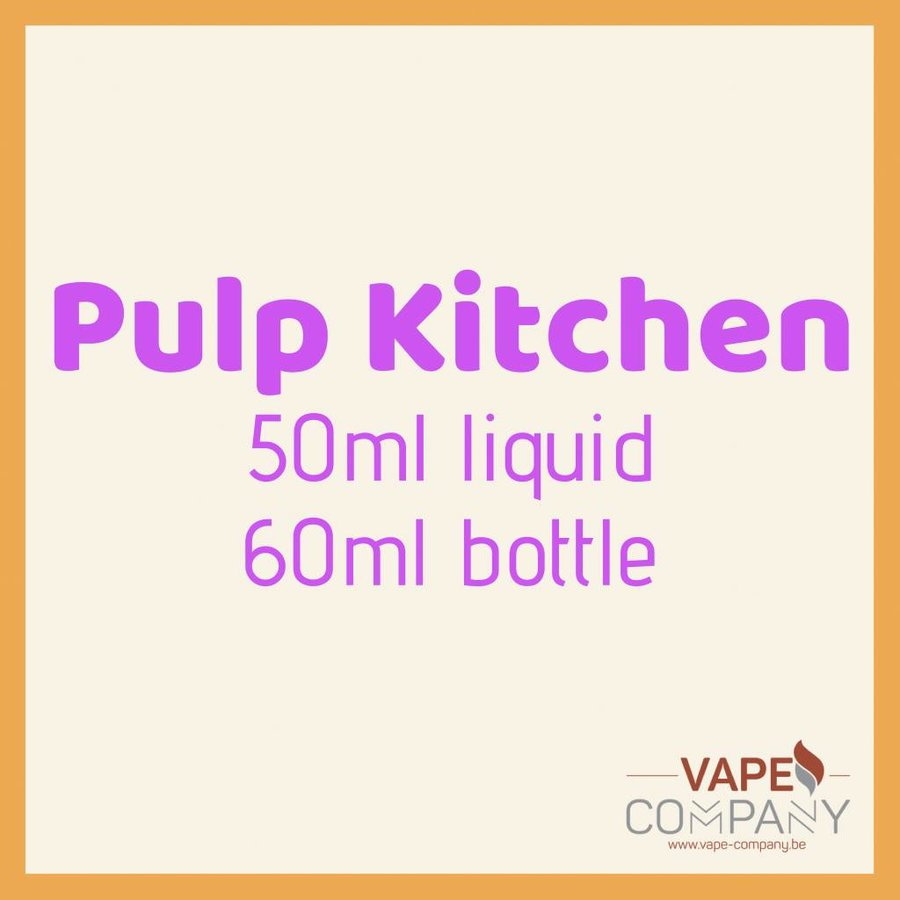 Pulp Kitchen 50ml -  Cinnamon Sin