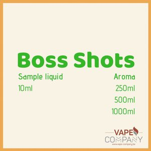 Boss Shots - Dark Matter