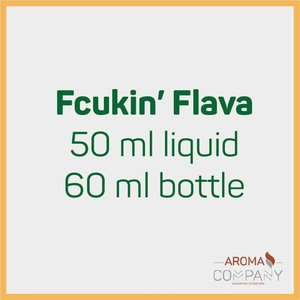 Fcukin' Flava 50ml -  Fcukin Munkey
