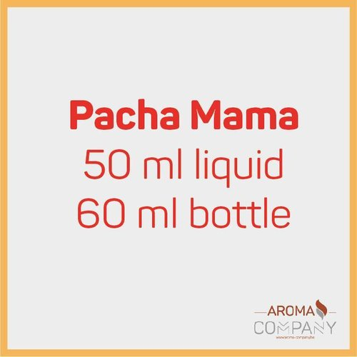 Pachamama - La feuille de menthe, miellat, kiwi 50/60