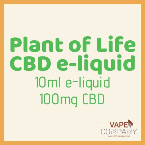 Plant of Life CBD liquid -  Mango Kush 100mg-10ml