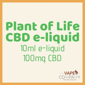 Plant of Life CBD liquid -  Amnesia 100mg-10ml