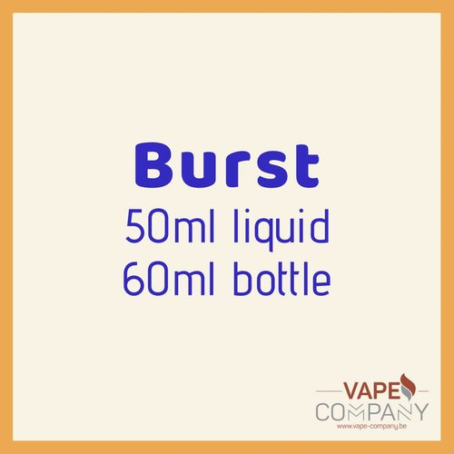 Burst eliquid - Citrus