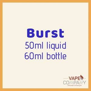 Burst eliquid - Rainbow sherbert