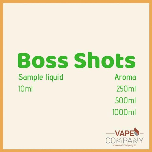 Boss Shots - Blue Lemonade