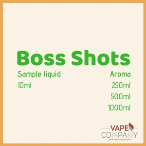 Boss Shots - beard vape 3.2