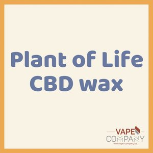 Plant of Life CBD Wax 66% -  Sour Diesel
