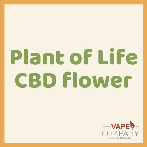 Plant of Life CBD Flower Bubblegum 1.5g