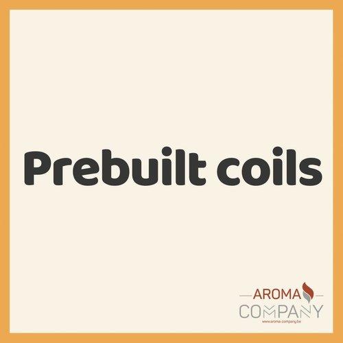 Prebuilt Coils