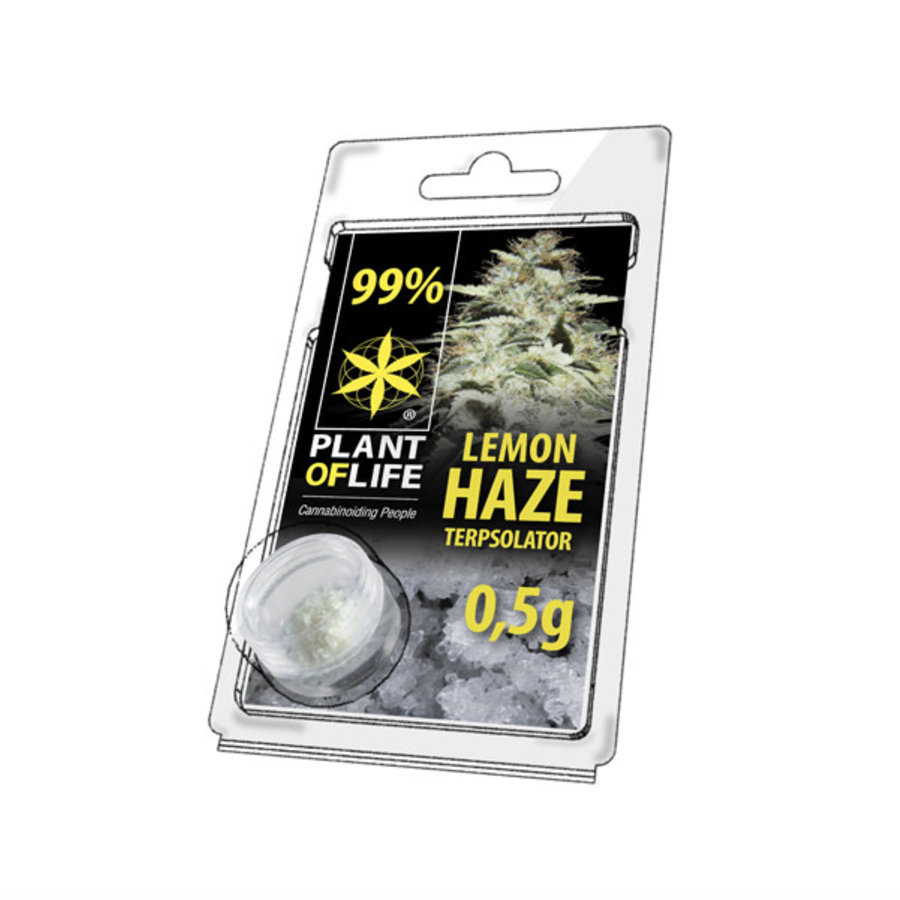 Plant of Life Terpsolator 99% CBD 0.5g Lemon Haze