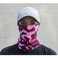 Facemsk -  Pink military camo