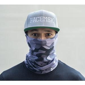 Facemsk - Grey military camo