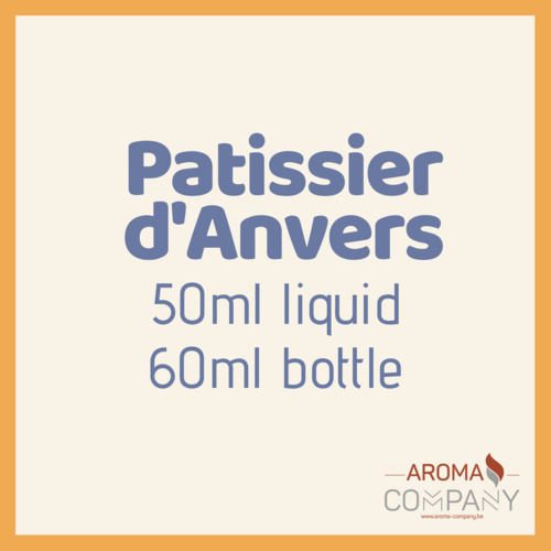 Patissier D'Anvers - Cookie & Cream Limited