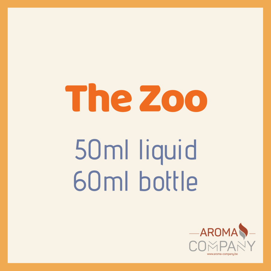 The Zoo 50ml -  The Peacock