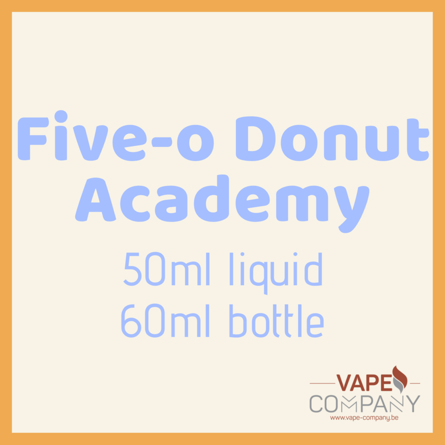 five-o donut academy apple 60ml