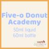 five-o donut academy raspberry swiss roll 60ml