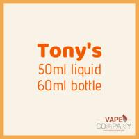 tony's hard lemonade 60ml