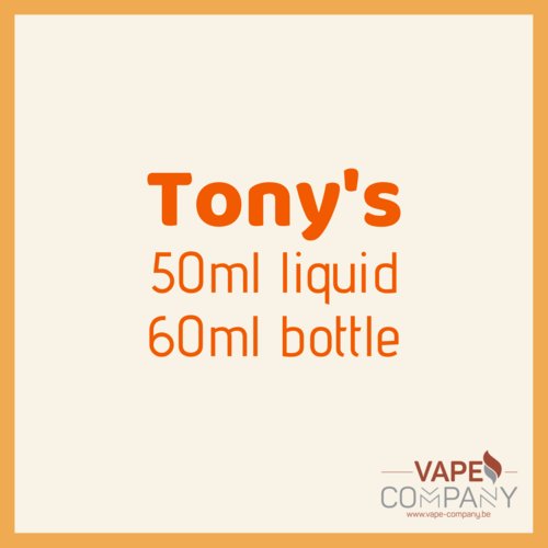 tony's red razz lemonade 60ml