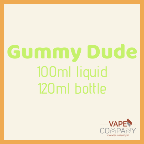 gummy dude grape soda 120ml
