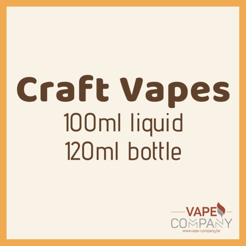 Craft Vapes 100ml -  Crazy Apple