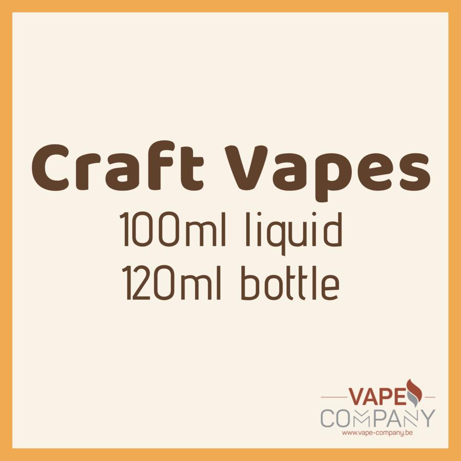Craft Vapes 100ml -  Frozen Apple