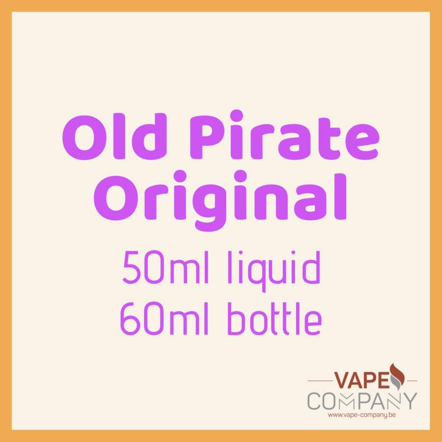 old pirate original cabin fever 60ml