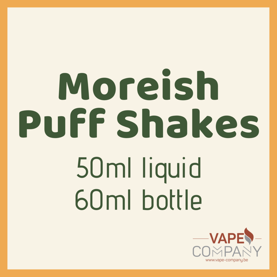 moreish puff shakes shamrock 60ml