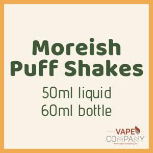 moreish puff shakes banana 60ml