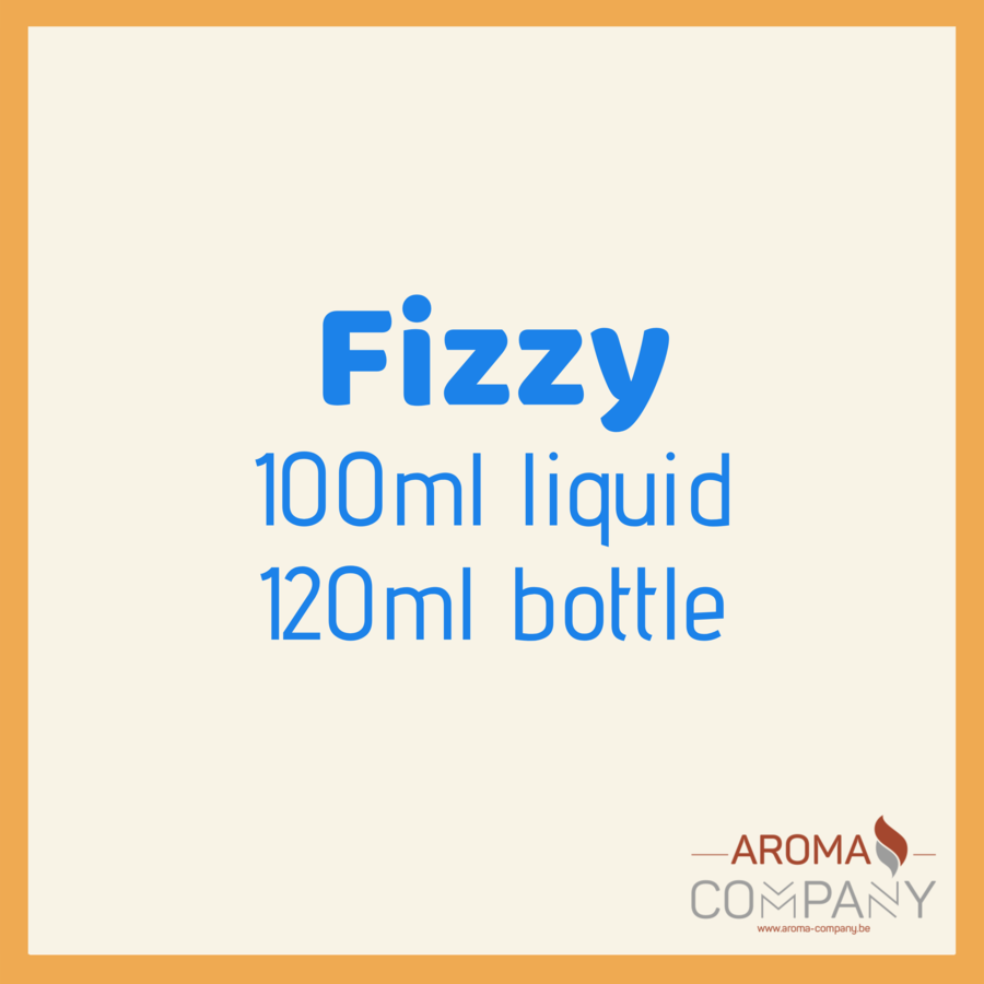 Fizzy 100ml/120ml -  Strawberry Custard
