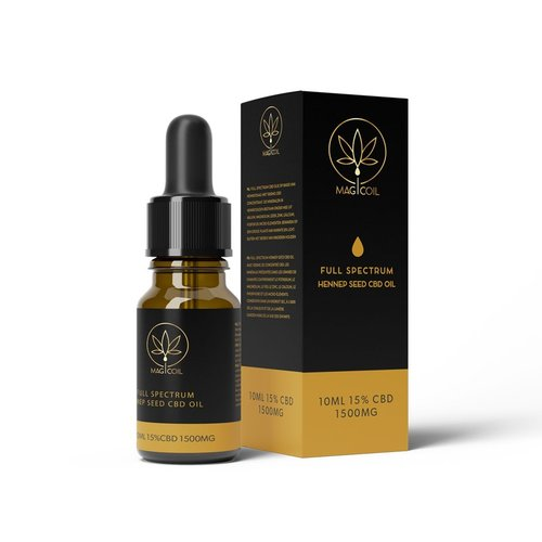 Magicoil - Full Spectrum Hennep Seed CBD Oil 15%