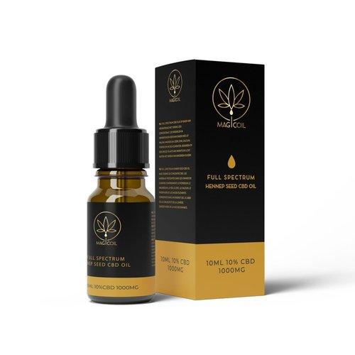 Magicoil - Full Spectrum Hennep Seed CBD Oil 10%