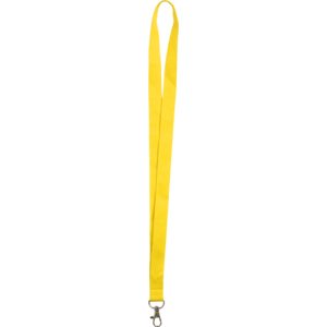 Gelb - Schlüsselbänder aus Polyester (Set à 50 Stück)